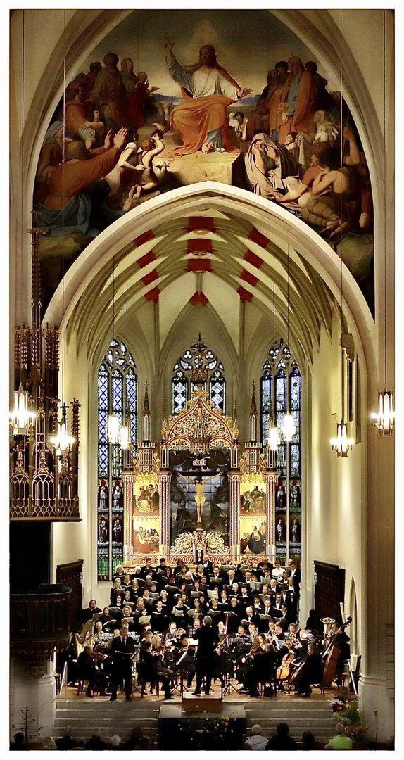 Kammerchor Böhlen - Singen im Südraum Leipzig mit LSO in Oschatz St. Aegidien