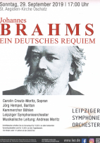 Johannes Brahms Ein deutsches Requiem Kammerchor Böhlen - Singen im Südraum Leipzig