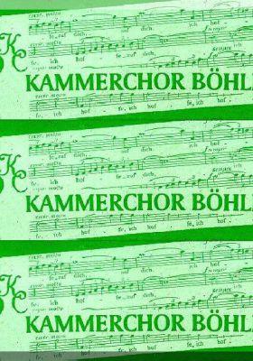 Kammerchor Böhlen - singen im Südraum Leipzig