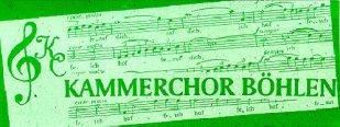 Kammerchor Böhlen singen im Südraum Leipzig