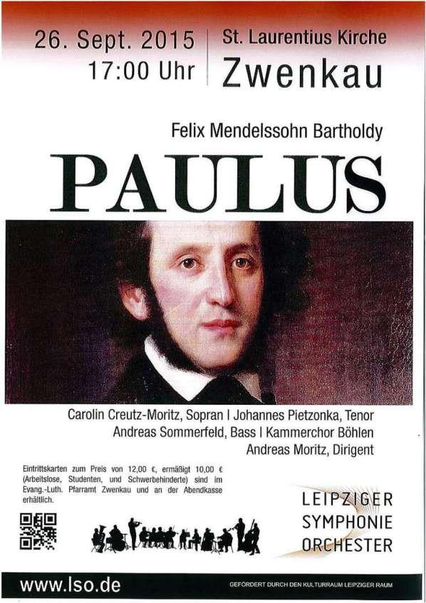 Paulus Felix Mendelssohn Bartholdy