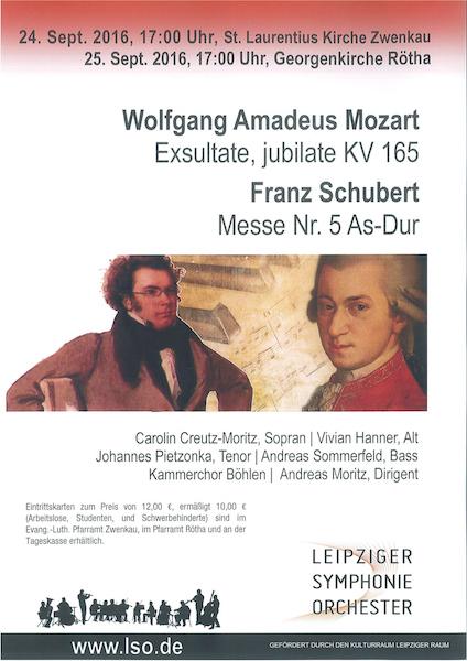 Wolfgang Amadeus Mozart Franz Schubert